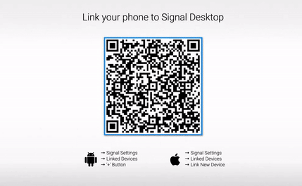 screenshot for Signal Desktop from their documentation
